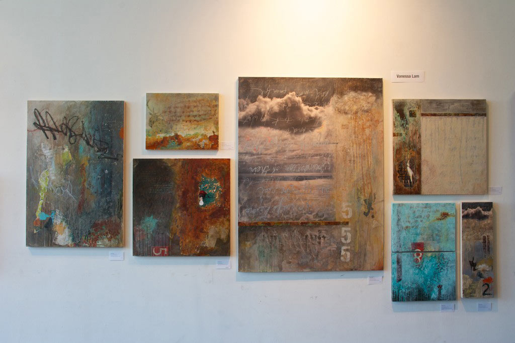 View of Main Wall at Main Space Gallery