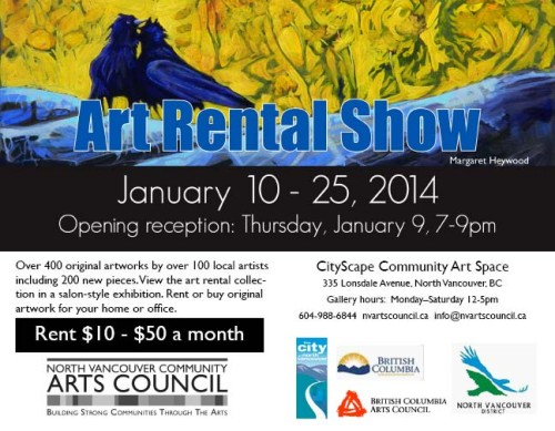 Art Rental Show 2014 Poster