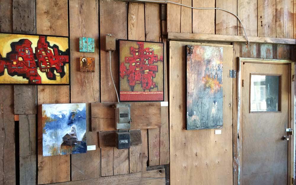 Breaking Ground Exhibit Wood Wall