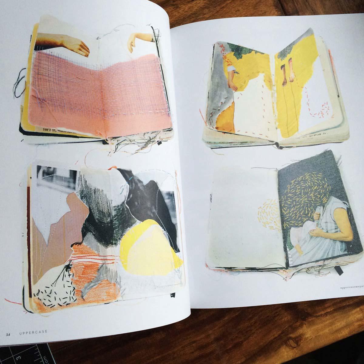 Alison Worman in Uppercase Magazine