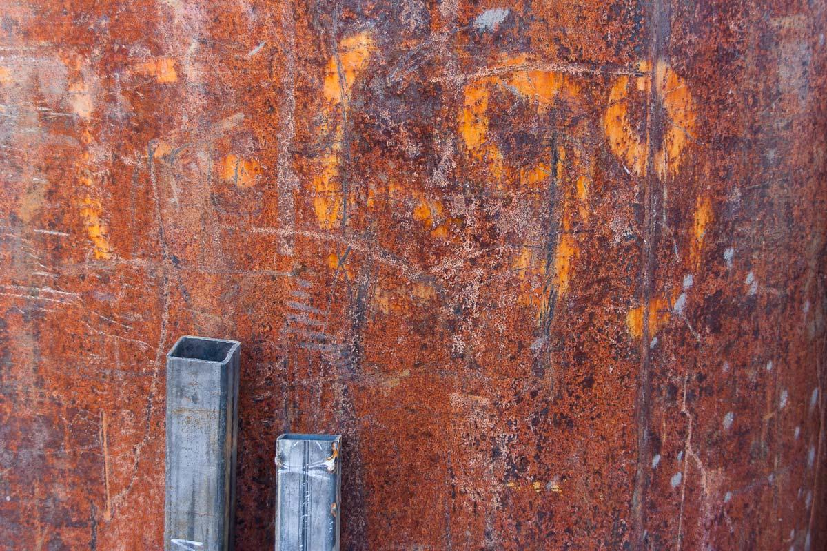 Steel against Rust